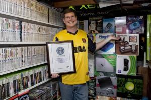 Record mondial de jocuri video