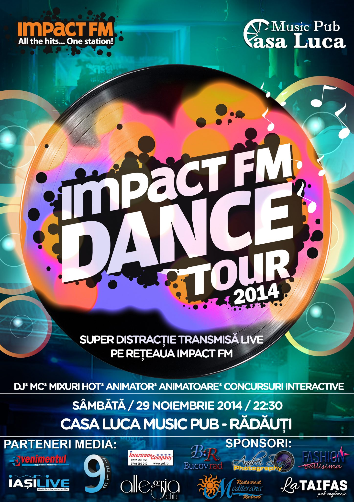 Impact FM Dance Tour la Radauti