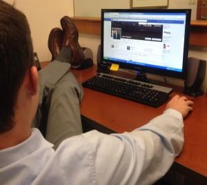 Facebook la locul de munca