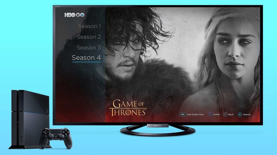 HBO GO pe PS4