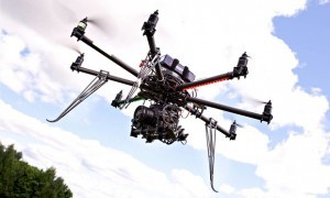 Drone cu Spray Paralizant
