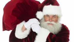 Un Moș Crăciun simpatic nu doar de sărbători