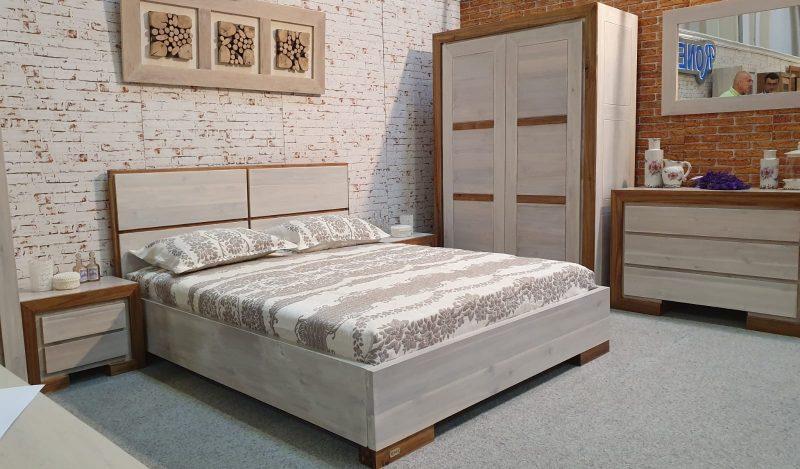 Mobila dormitor lemn masiv