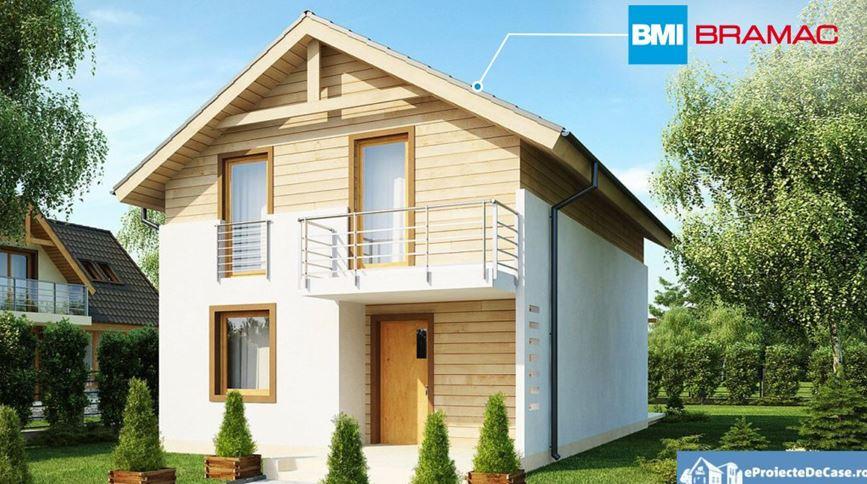 Proiecte de case cu mansarda la un click distanta!