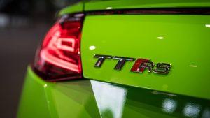 Audi TT RS Coupe in culoarea exclusiva Lime Green