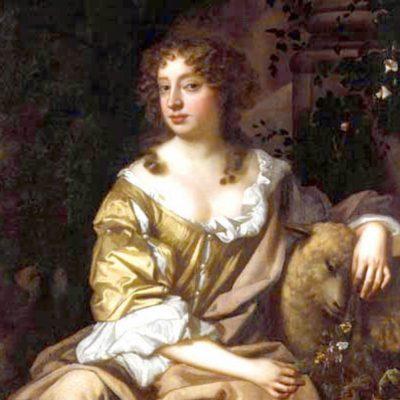 Nell Gwyn si Regele Carol II al Angliei